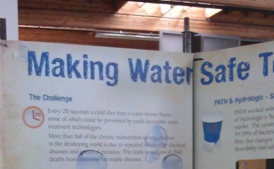 Making Water Safe Display